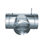 Alternating shut-off damper